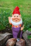 arbeta i trädgården elakt troll Royaltyfria Foton