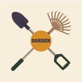 arbeta i trädgården för design Royaltyfria Foton