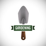 arbeta i trädgården för design Royaltyfri Fotografi