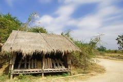 arbeta i trädgården husstil thai thailand Arkivfoto