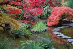arbeta i trädgården japanen Arkivfoto