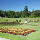 arbeta i trädgården powerscourt royaltyfria foton