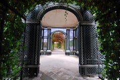 arbeta i trädgården slottschonbrunn Royaltyfri Foto