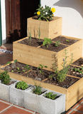 arbeta i trädgården som är stads- Royaltyfri Fotografi