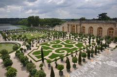 arbeta i trädgården versaille Royaltyfria Bilder
