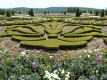 arbeta i trädgården versailles Royaltyfria Bilder