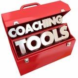 Arbeta som privatlärare åt hjälpmedel Team Building Leadership Toolbox Royaltyfri Foto