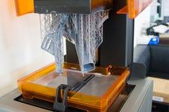 Arbetande skrivare 3D Arkivbild
