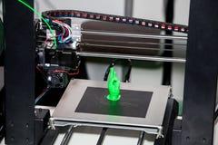 Arbetande skrivare 3D Royaltyfri Fotografi