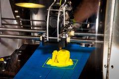 Arbetande skrivare 3D Royaltyfri Bild