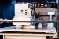 Arbetande skrivare 3D Royaltyfria Foton