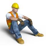 arbetare stock illustrationer