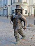 Arbetare av den Tallinn staden Arkivfoton