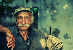 arbetare för portait för bondeläge orientalisk arkivbilder