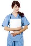 arbetare för omsorgskvinnlighälsa Royaltyfri Fotografi
