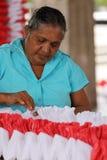 Arbetare och handwork i Sri Lanka Fotografering för Bildbyråer