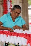 Arbetare och handwork i Sri Lanka Royaltyfria Bilder