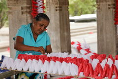 Arbetare och handwork i Sri Lanka Royaltyfria Foton