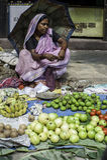 Arbetarklass i Kolkata, Indien Royaltyfria Foton