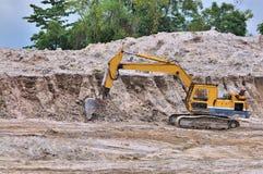 arbete för 11 utgrävningserie Arkivfoton