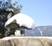 Arbete för japanträdgårdsten Royaltyfria Bilder