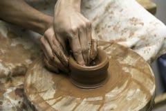 Arbete för keramiker` s Arkivbild