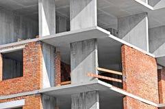 Arbete för konstruktionsplats Arkivfoto