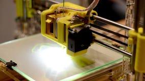 arbete för skrivare 3D lager videofilmer