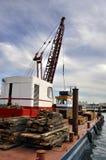 Arbete som är pågående på Venedig Royaltyfria Foton