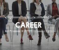 Arbete Team Business Career Concept royaltyfria foton