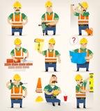 Arbeten för konstruktionsplats Royaltyfri Fotografi