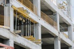 Arbeten på byggnaden Royaltyfri Bild