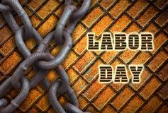 Arbets- dag i USA-ferien Arkivbild