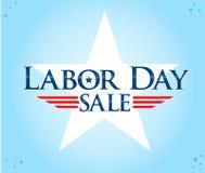 arbets- försäljning för dag Arkivfoto