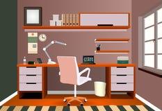 Arbetsplatsillustration Royaltyfri Fotografi