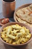 Arbi Ka Saag - un plat fait à partir du Colocasia Photographie stock