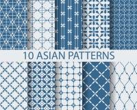 10 arbic wzorów Fotografia Stock
