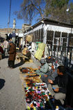 Arbil City. Street vendors in Arbil the capital of Kurdistan,Iraq Royalty Free Stock Photo