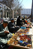 Arbil City. Street vendors in Arbil the capital of Kurdistan,Iraq Stock Photos