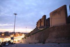 Arbil at Night. In kurdistan,Turkey Stock Images