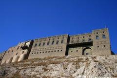 Arbil-Schloss stockbilder