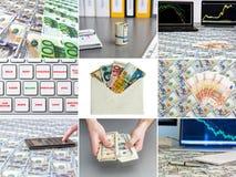 Arbitrage d'actifs de collage de photo images libres de droits