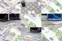 Arbitrage d'actifs de collage de photo photos stock