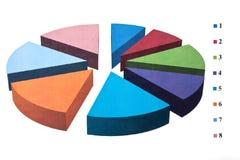 Arbitrary chart Stock Photo