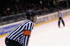 Arbitre d'hockey Image libre de droits