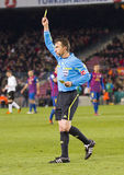 Arbitre du football Images stock