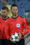 Arbitre du football de Mark Clattenburg Image stock