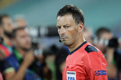 Arbitre du football de Mark Clattenburg Photographie stock libre de droits