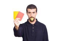 Arbitro Fotografia Stock Libera da Diritti