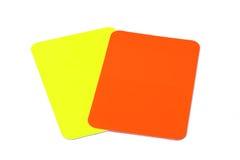 Arbitro Cards Fotografia Stock Libera da Diritti